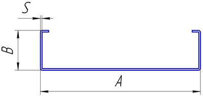 Профиль кабельного лотка